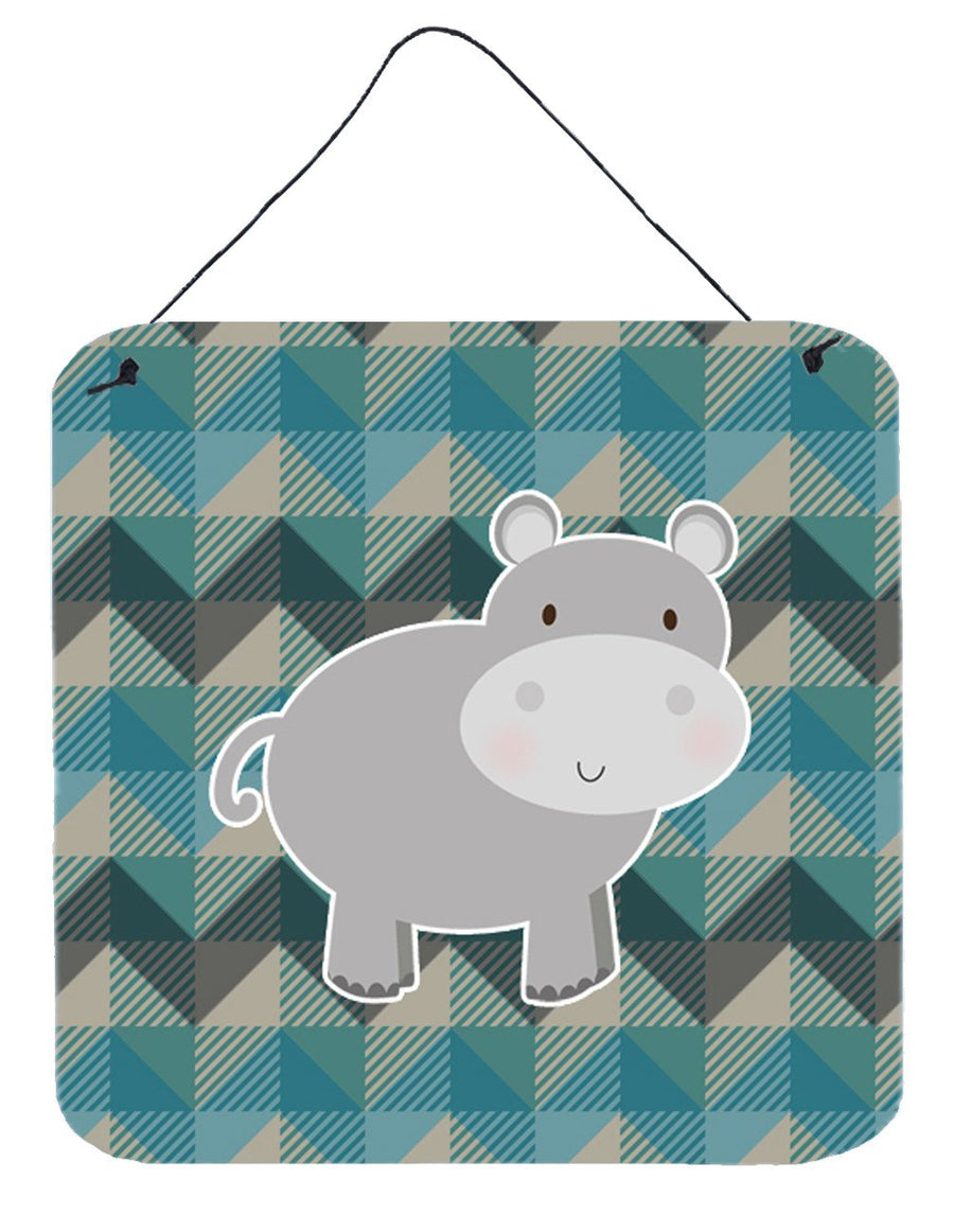 Buy this Hippopotamus Wall or Door Hanging Prints BB7031DS66