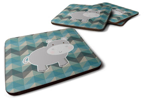 Buy this Hippopotamus Foam Coaster Set of 4 BB7031FC