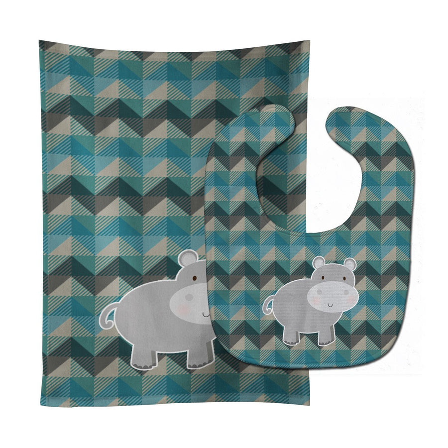 Buy this Hippopotamus Baby Bib & Burp Cloth BB7031STBU