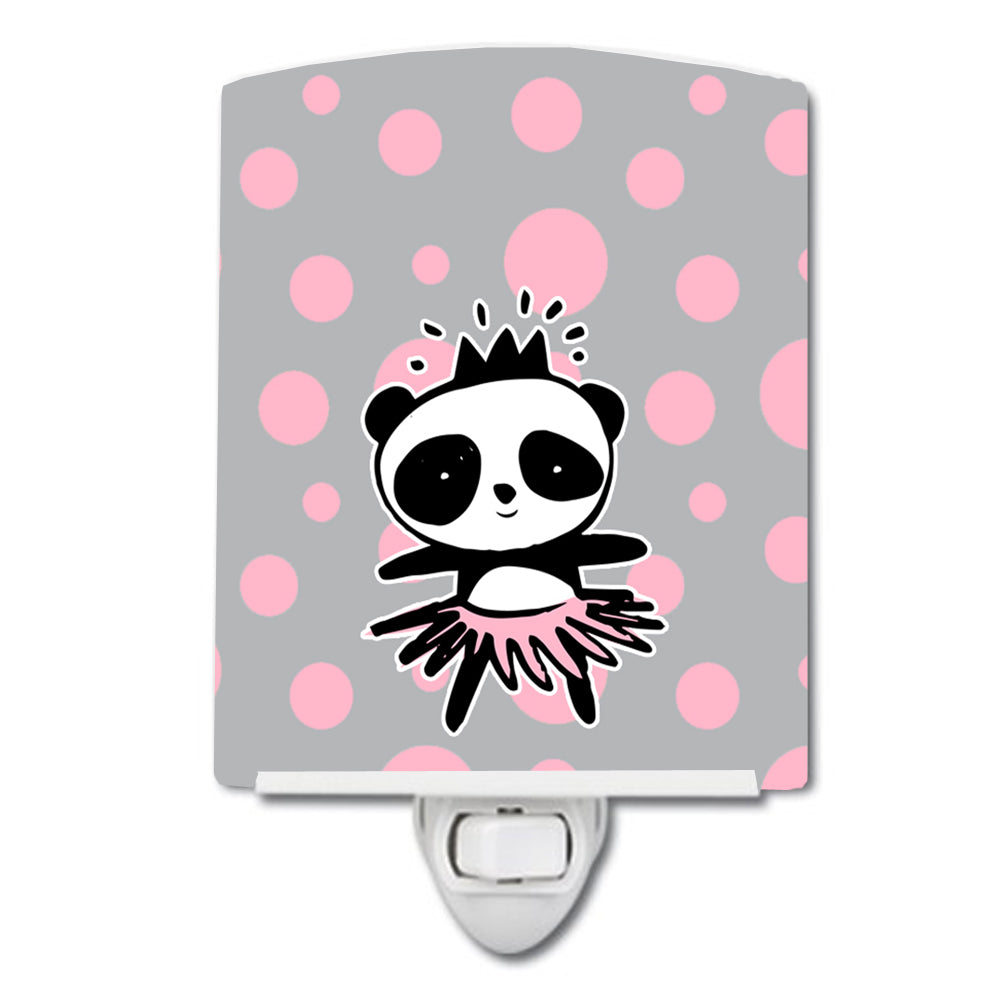 Panda Bear Ballerina Ceramic Night Light BB7035CNL by Caroline's Treasures