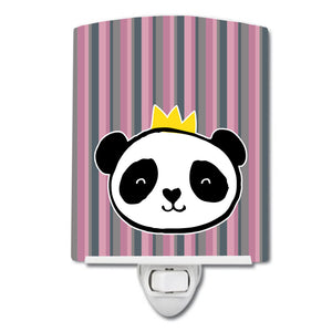 Buy this Panda Bear Queen Ceramic Night Light BB7037CNL