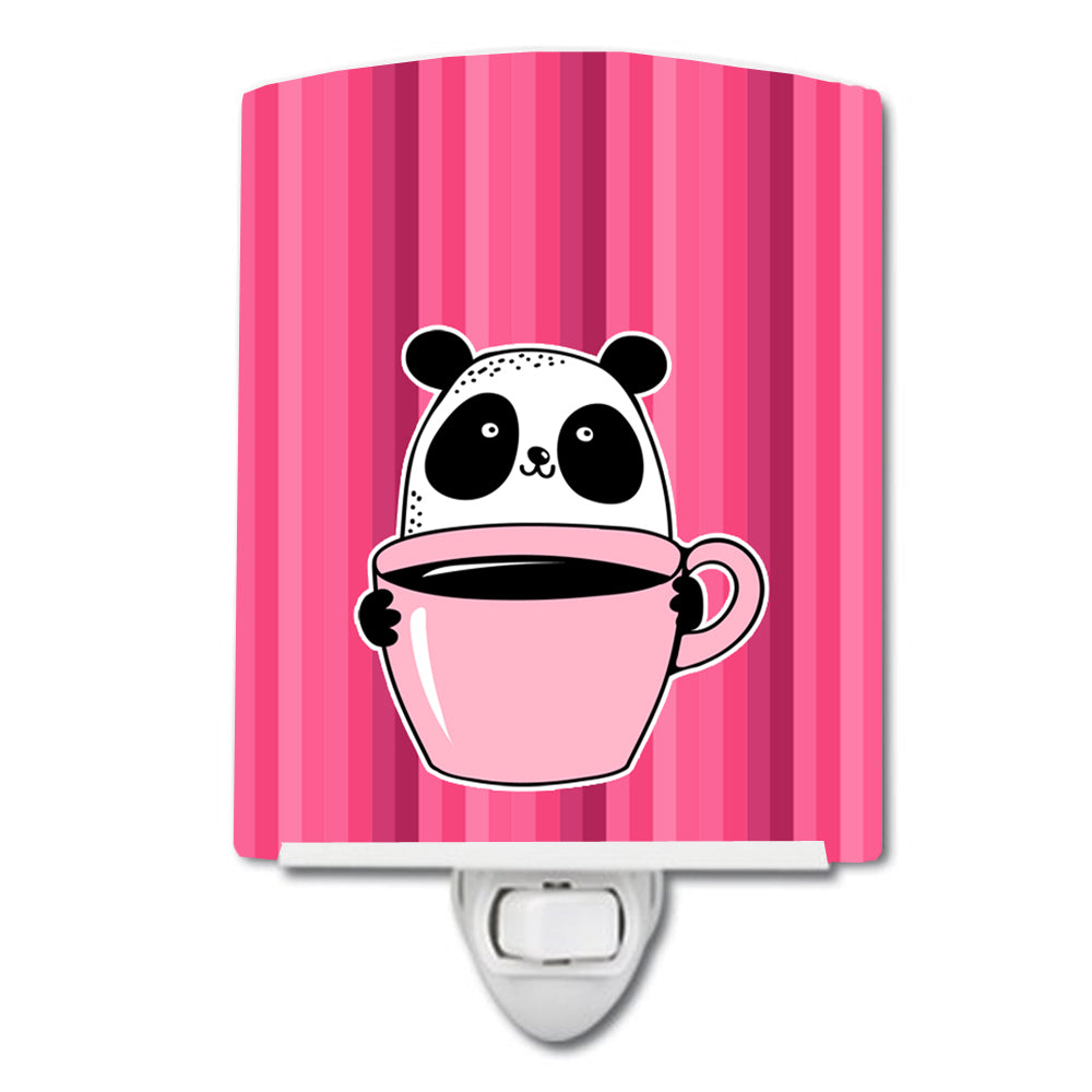 Buy this Panda Bear Coffee Ceramic Night Light BB7038CNL