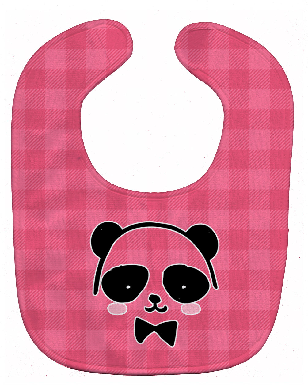 Panda Bear Pink Face Baby Bib BB7039BIB by Caroline's Treasures