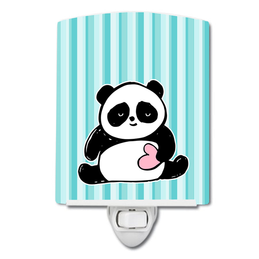 Buy this Panda Bear Love Ceramic Night Light BB7040CNL