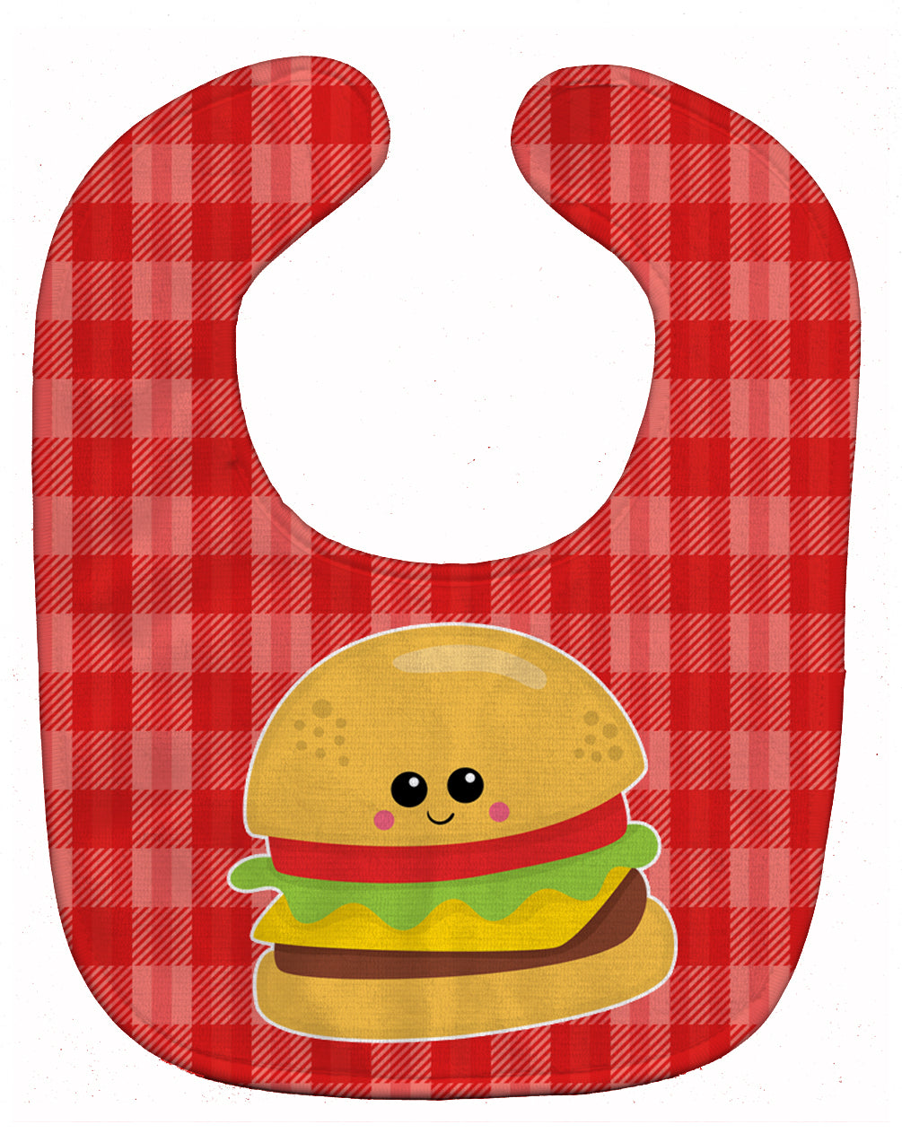 Hamburger Face Baby Bib BB7042BIB by Caroline's Treasures