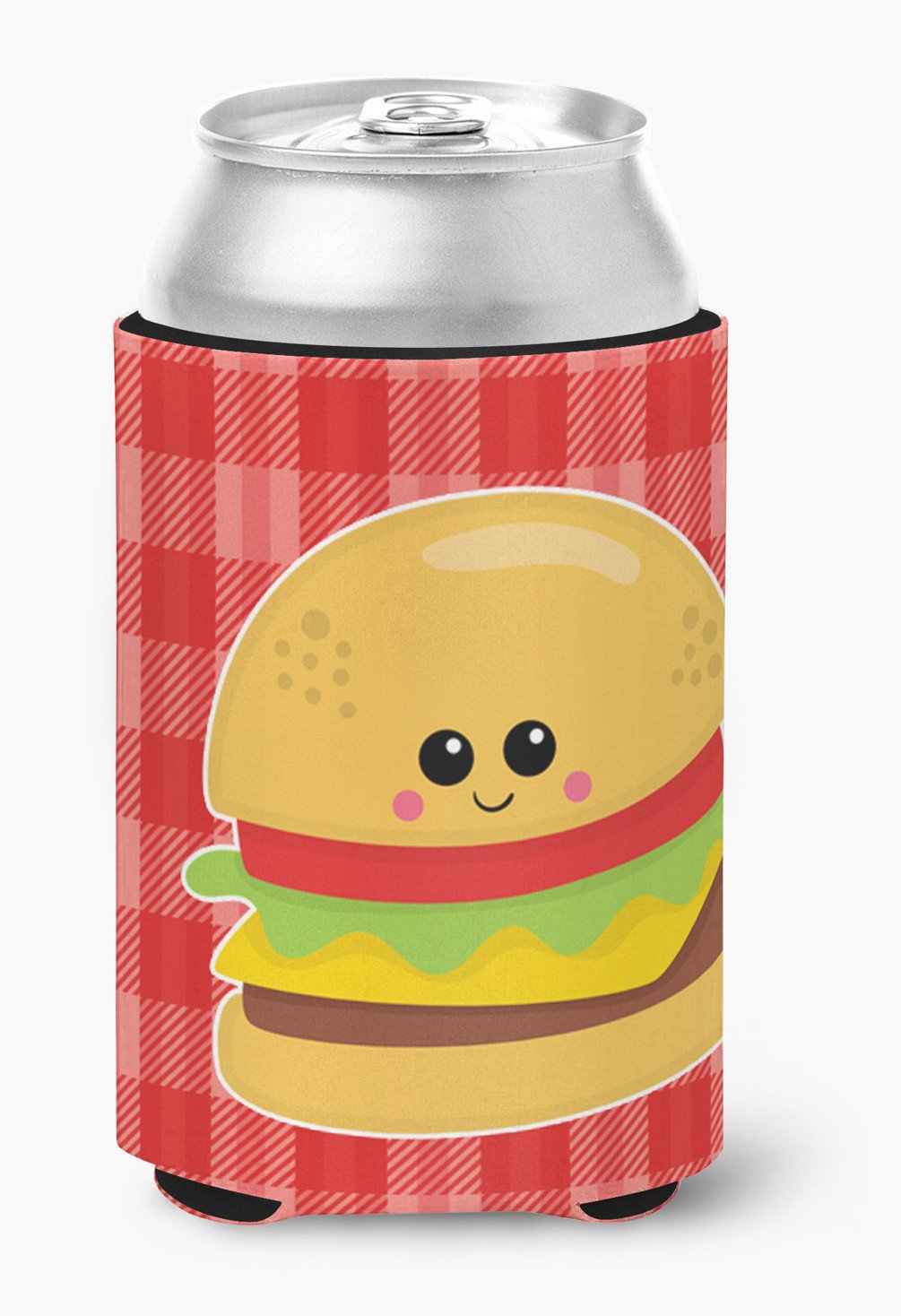 Hamburger Face Can or Bottle Hugger BB7042CC by Caroline's Treasures