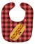 Hot Dog Face Baby Bib BB7045BIB by Caroline's Treasures