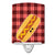 Hot Dog Face Ceramic Night Light BB7045CNL by Caroline's Treasures
