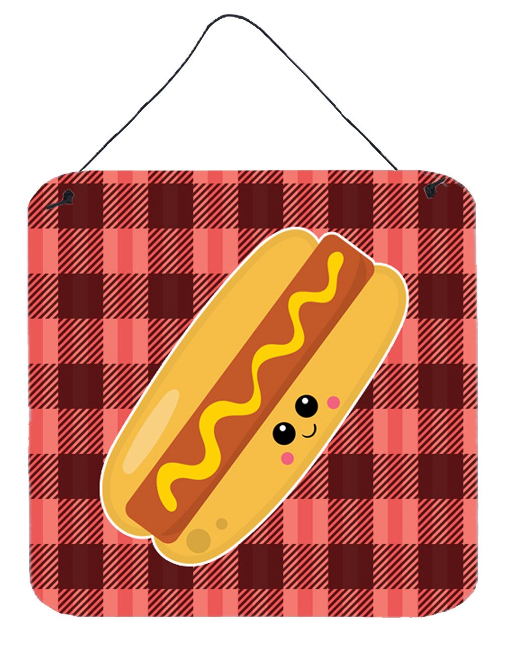 Buy this Hot Dog Face Wall or Door Hanging Prints BB7045DS66