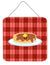 Pancake Face Wall or Door Hanging Prints BB7049DS66 by Caroline's Treasures