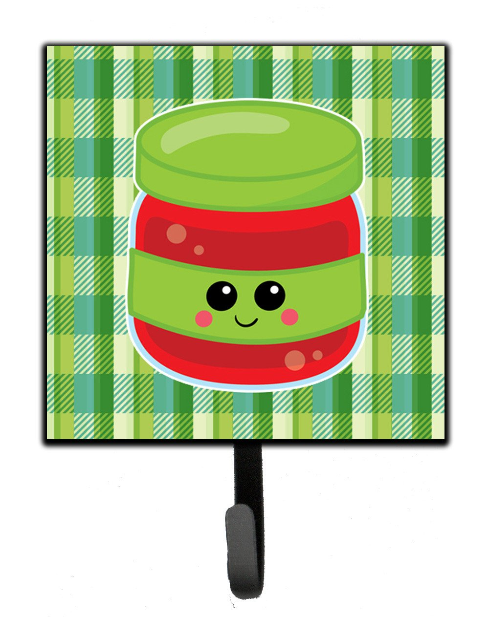 Jelly Jar Face Leash or Key Holder BB7051SH4 by Caroline's Treasures