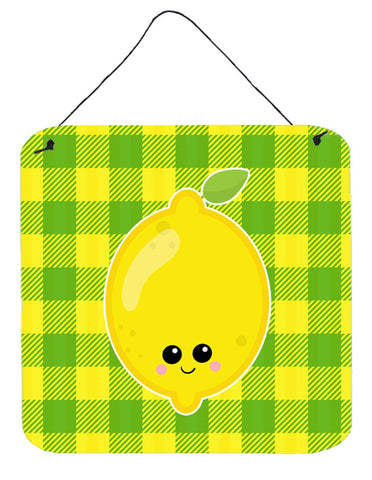 Buy this Lemon Face Wall or Door Hanging Prints BB7055DS66