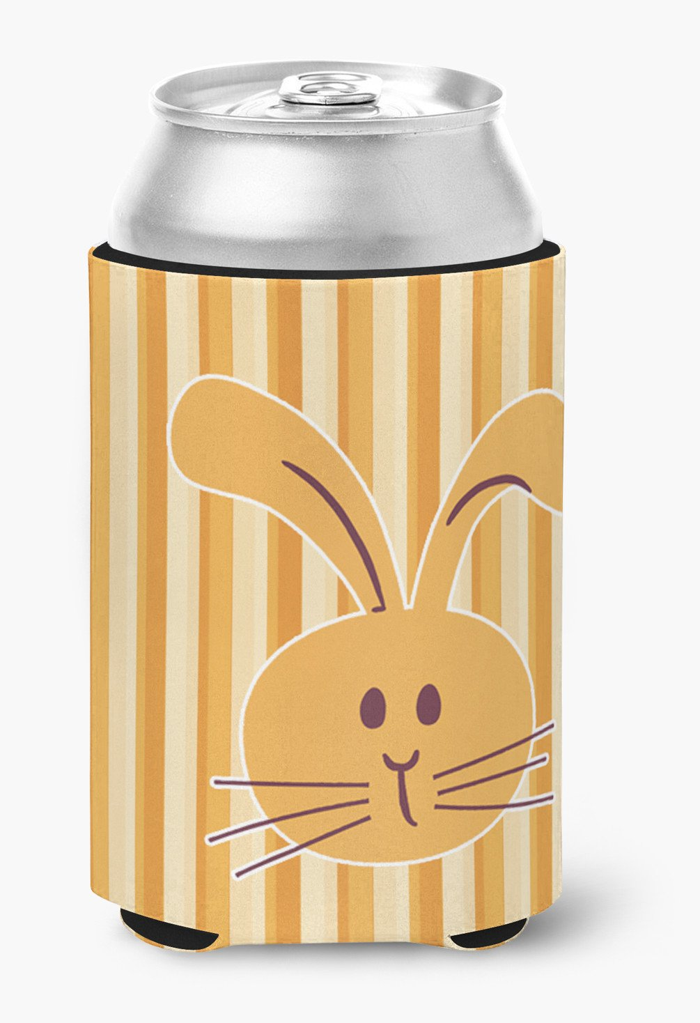 Rabbit on Stripes Can or Bottle Hugger BB7081CC by Caroline's Treasures