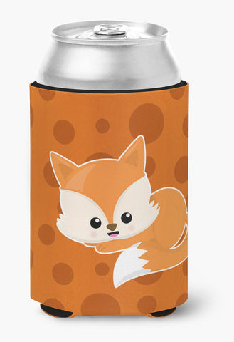 Buy this Baby Fox Polkadot Can or Bottle Hugger BB7086CC