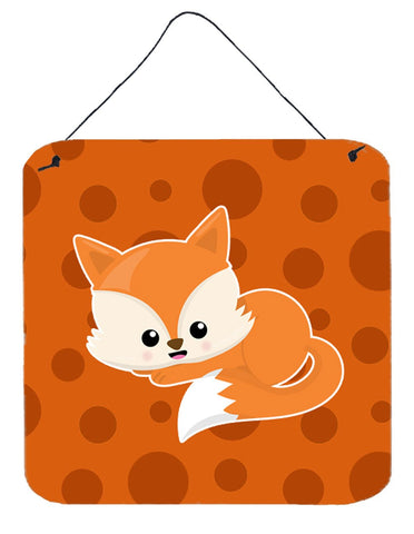 Buy this Baby Fox Polkadot Wall or Door Hanging Prints BB7086DS66