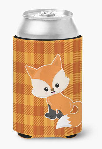 Buy this Baby Fox Gingham Can or Bottle Hugger BB7087CC