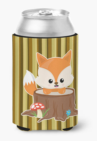 Buy this Baby Fox Tree Stripes Can or Bottle Hugger BB7088CC