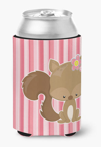Buy this Squirrel with Flowers Can or Bottle Hugger BB7094CC