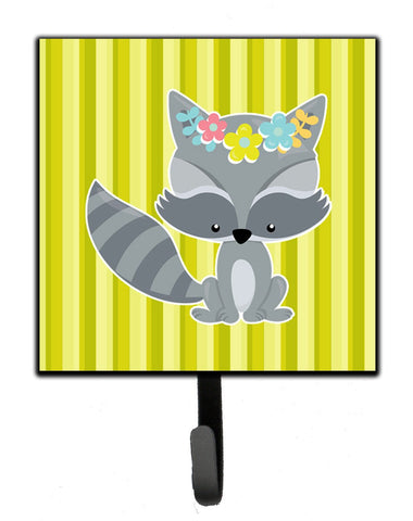 Buy this Raccoon with Flowers Leash or Key Holder BB7095SH4