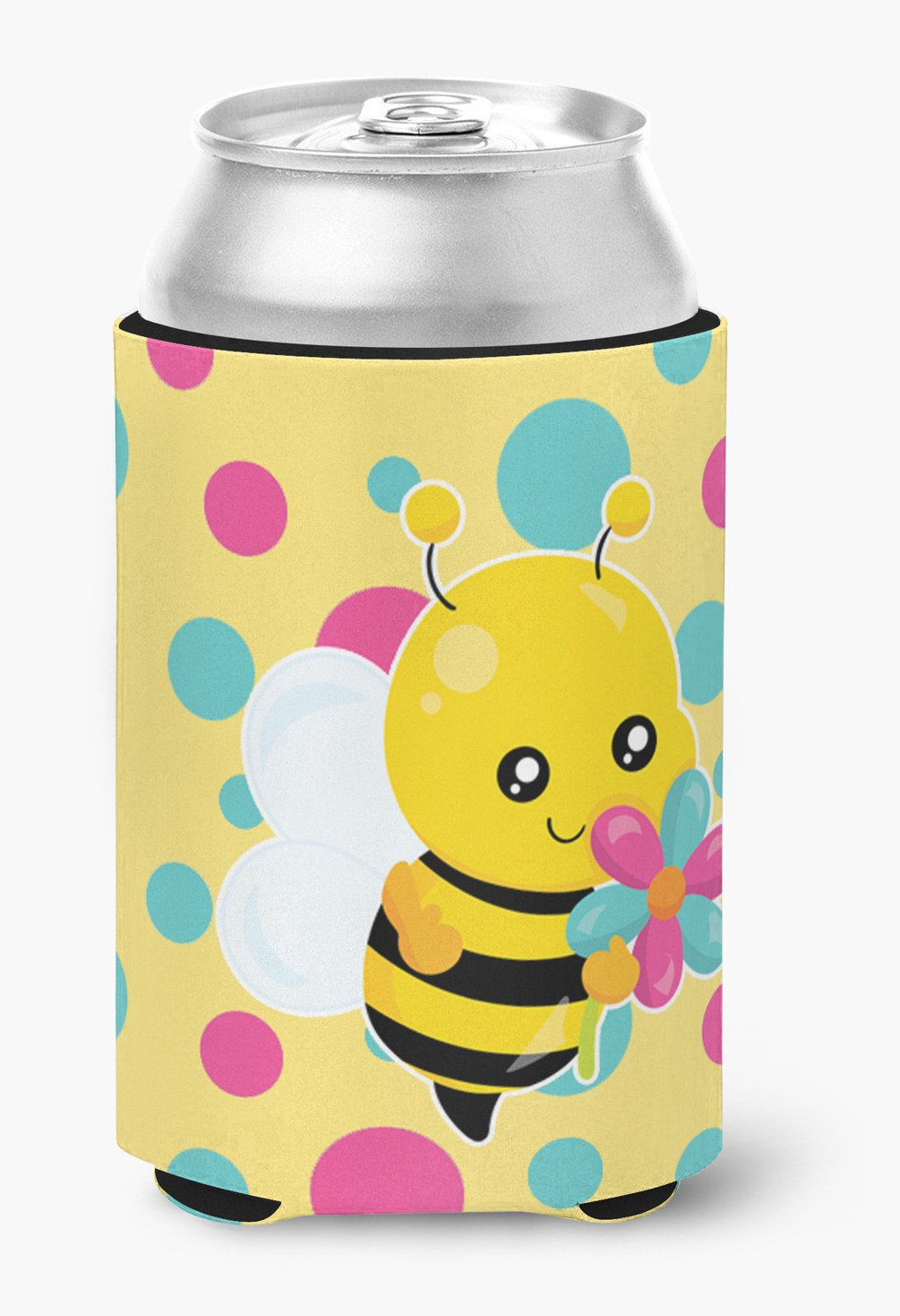 Buy this Bee with Flower Can or Bottle Hugger BB7097CC