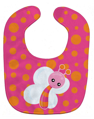Buy this Butterfly on Polkadots Baby Bib BB7102BIB
