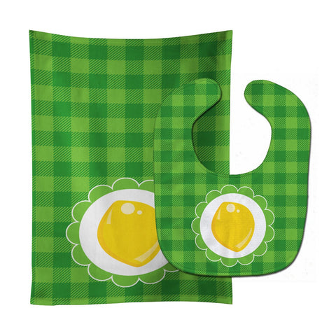 Buy this Lemon Baby Bib & Burp Cloth BB7107STBU