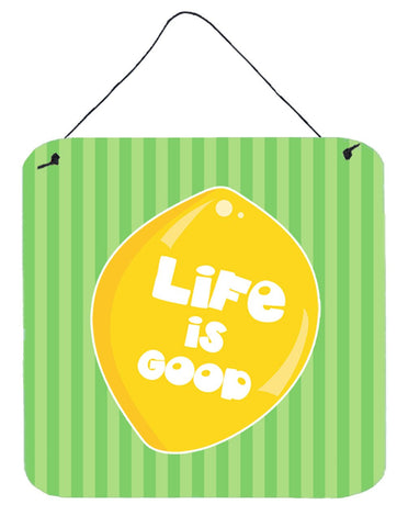 Buy this Lemon Life is Good Wall or Door Hanging Prints BB7108DS66