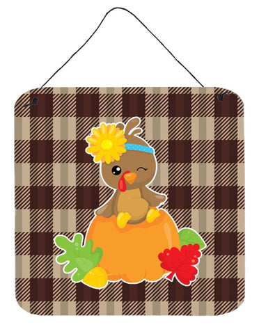 Buy this Thanksgiving Baby Turkey Wall or Door Hanging Prints BB7113DS66