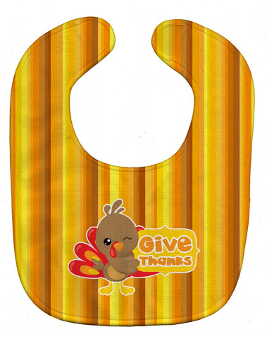 Buy this Thanksgiving Turkey Give Thanks Baby Bib BB7115BIB