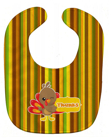 Buy this Thanksgiving Turkey Thanks Baby Bib BB7116BIB