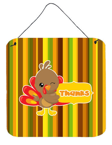 Buy this Thanksgiving Turkey Thanks Wall or Door Hanging Prints BB7116DS66