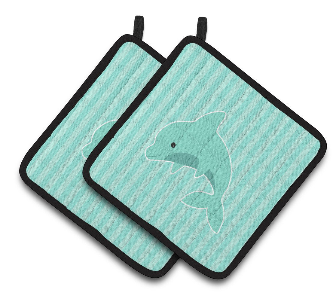 Buy this Dolphin Pair of Pot Holders BB7120PTHD