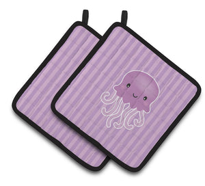 Buy this Jellyfish Pair of Pot Holders BB7122PTHD