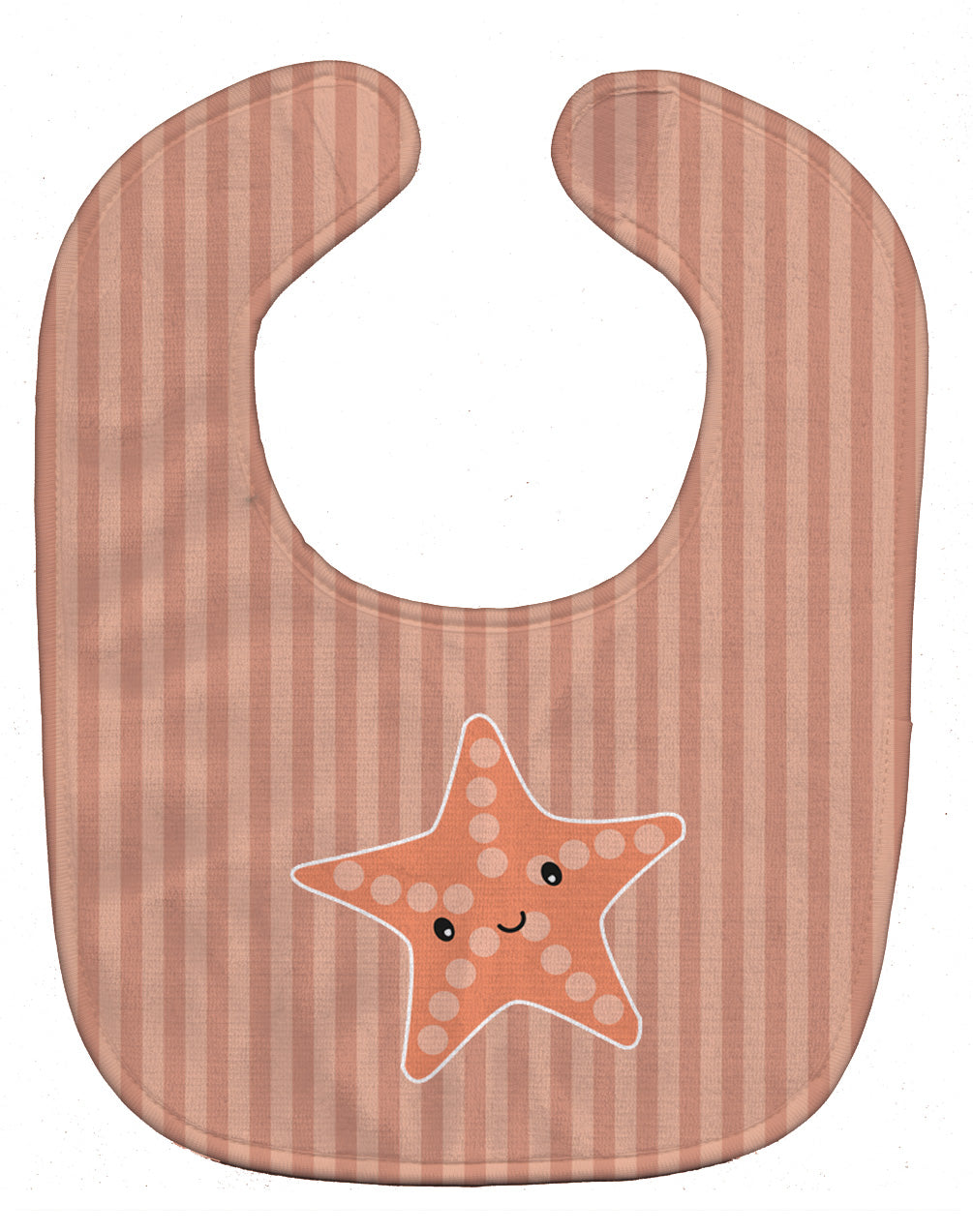 Starfish Baby Bib BB7126BIB by Caroline's Treasures