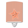 Starfish Ceramic Night Light BB7126CNL by Caroline's Treasures