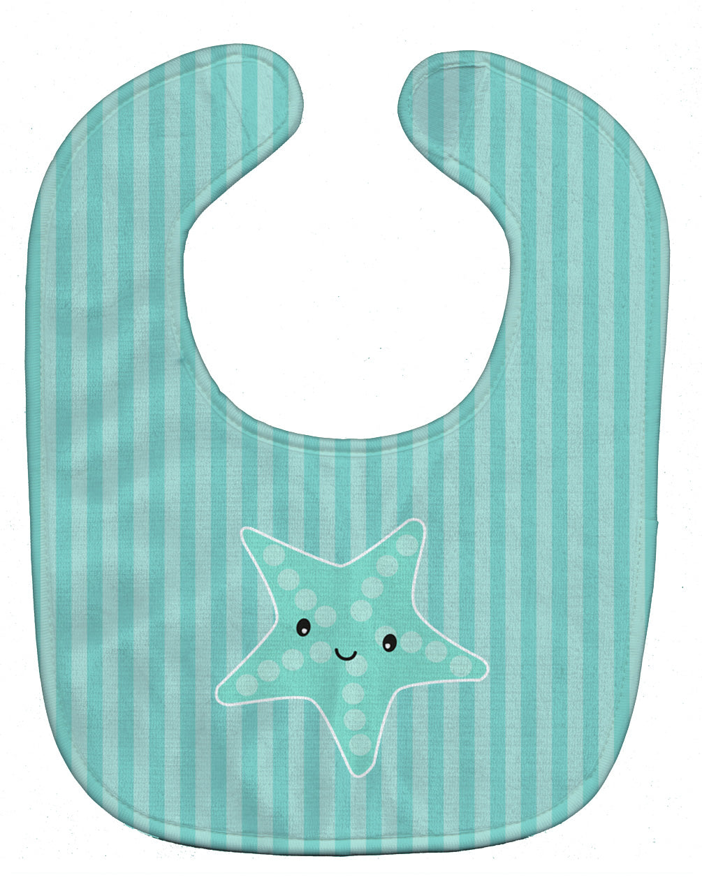 Starfish Baby Bib BB7127BIB by Caroline's Treasures