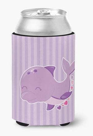 Buy this Purple Dolphin Can or Bottle Hugger BB7132CC