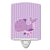 Buy this Purple Dolphin Ceramic Night Light BB7132CNL