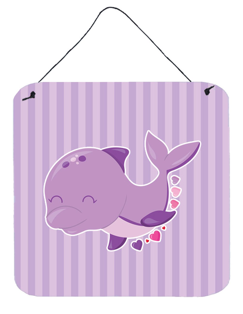 Buy this Purple Dolphin Wall or Door Hanging Prints BB7132DS66