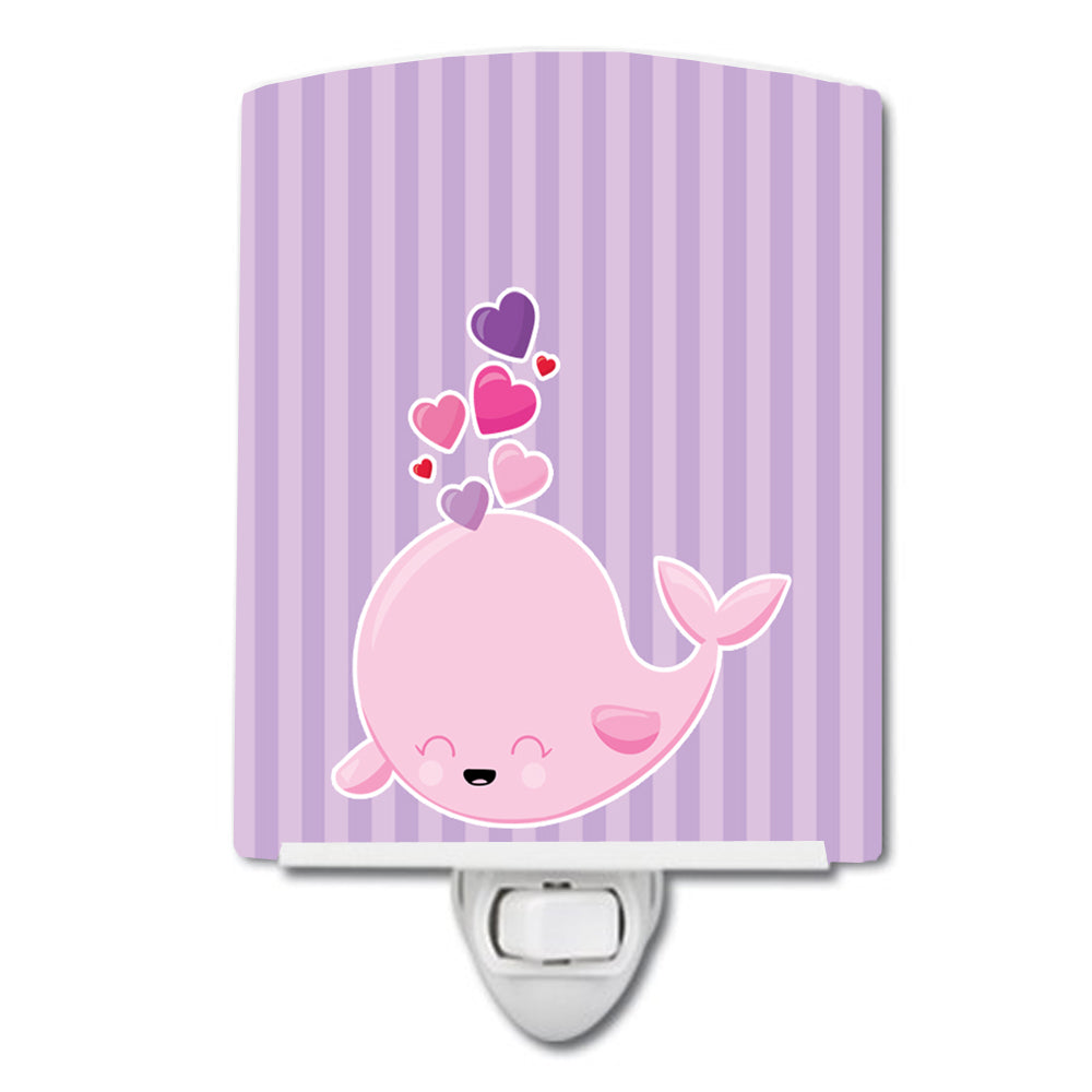 Buy this Pink Whale Ceramic Night Light BB7134CNL