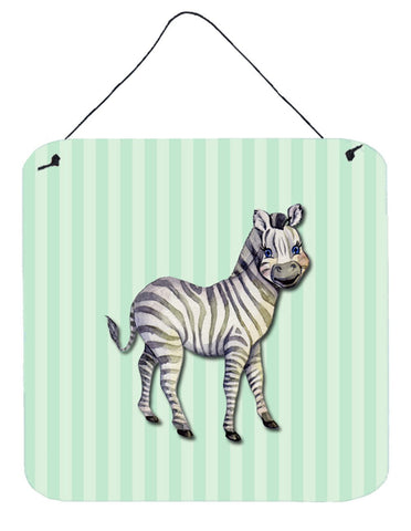 Buy this Zebra Wall or Door Hanging Prints BB7143DS66