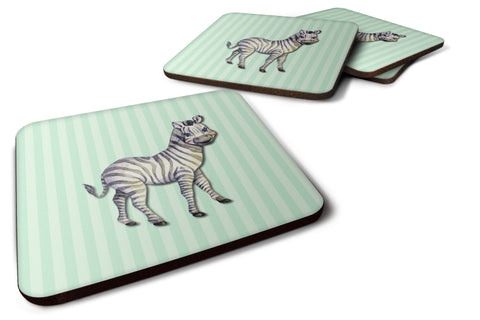 Buy this Zebra Foam Coaster Set of 4 BB7143FC