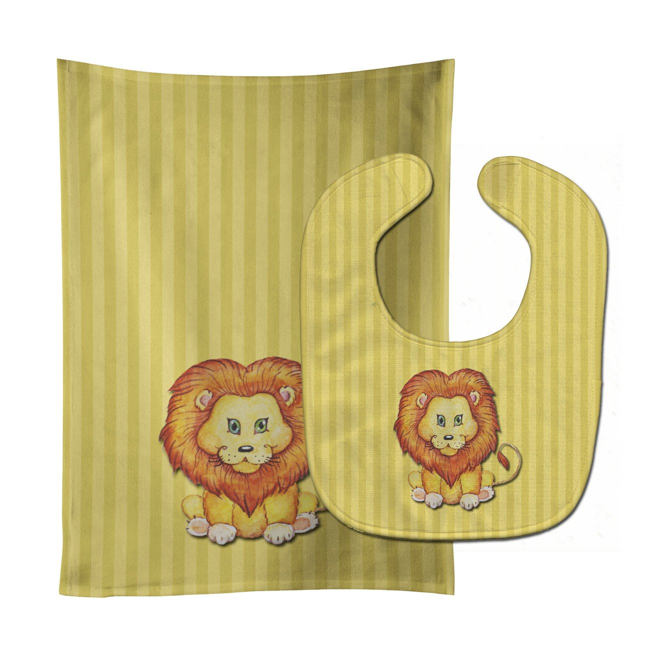 Buy this Lion Baby Bib & Burp Cloth BB7146STBU
