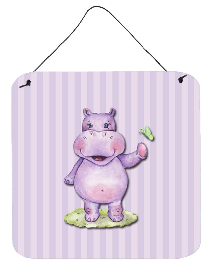 Buy this Hippopotamus Wall or Door Hanging Prints BB7147DS66