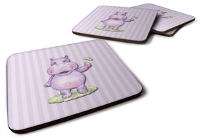Buy this Hippopotamus Foam Coaster Set of 4 BB7147FC