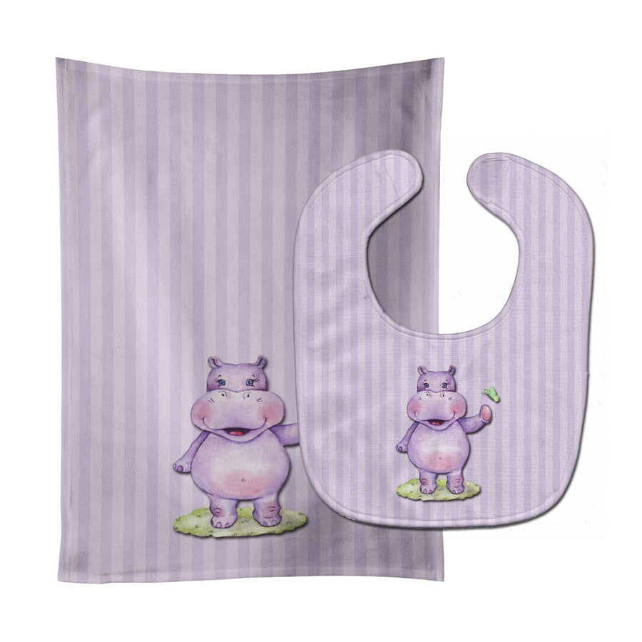 Buy this Hippopotamus Baby Bib & Burp Cloth BB7147STBU
