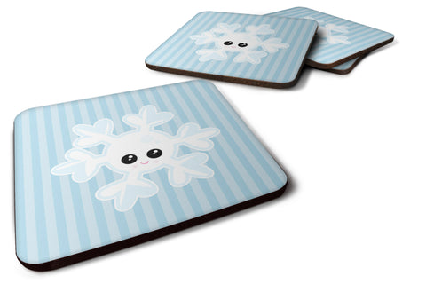 Buy this Weather Snowflake Face Foam Coaster Set of 4 BB7149FC