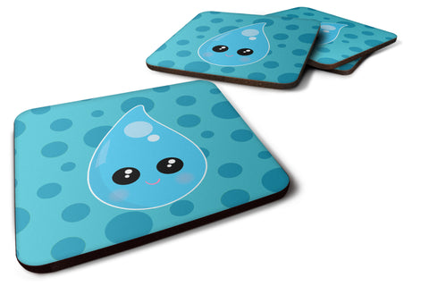 Buy this Weather Rain Drop Face Foam Coaster Set of 4 BB7153FC