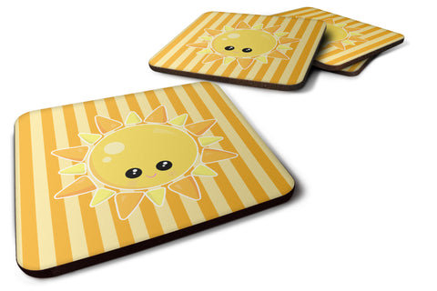 Buy this Weather Sunshine Face Foam Coaster Set of 4 BB7155FC
