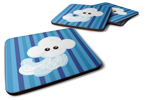 Buy this Weather Windy Face Foam Coaster Set of 4 BB7157FC
